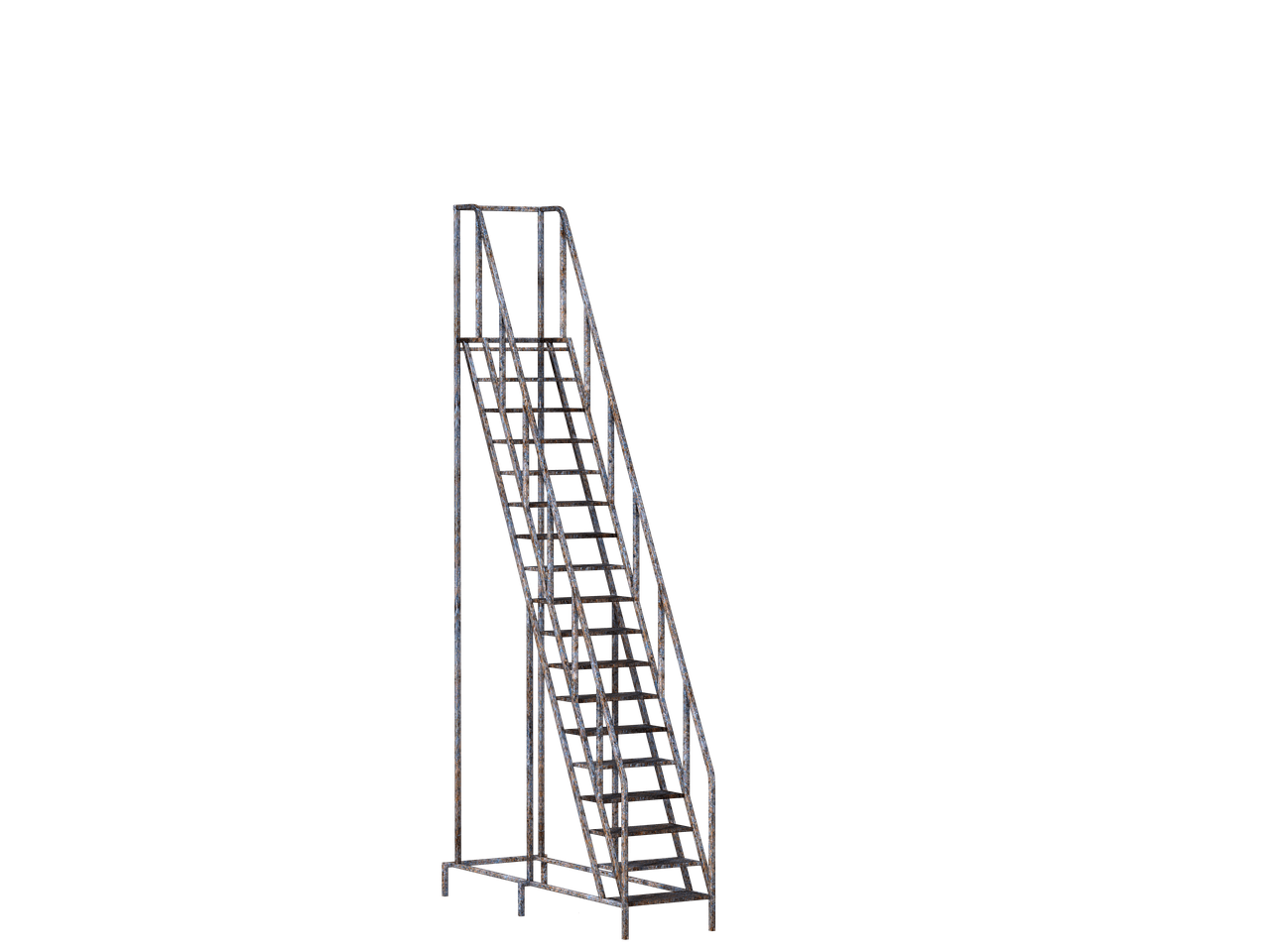 Metallic stick png. Stairs mobile transparent stickpng