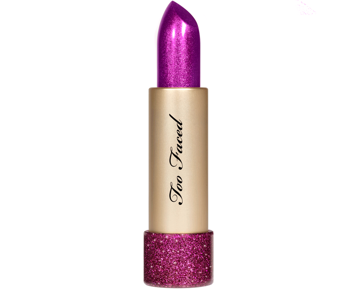 Metallic stick png. Pixie violet lipstick with