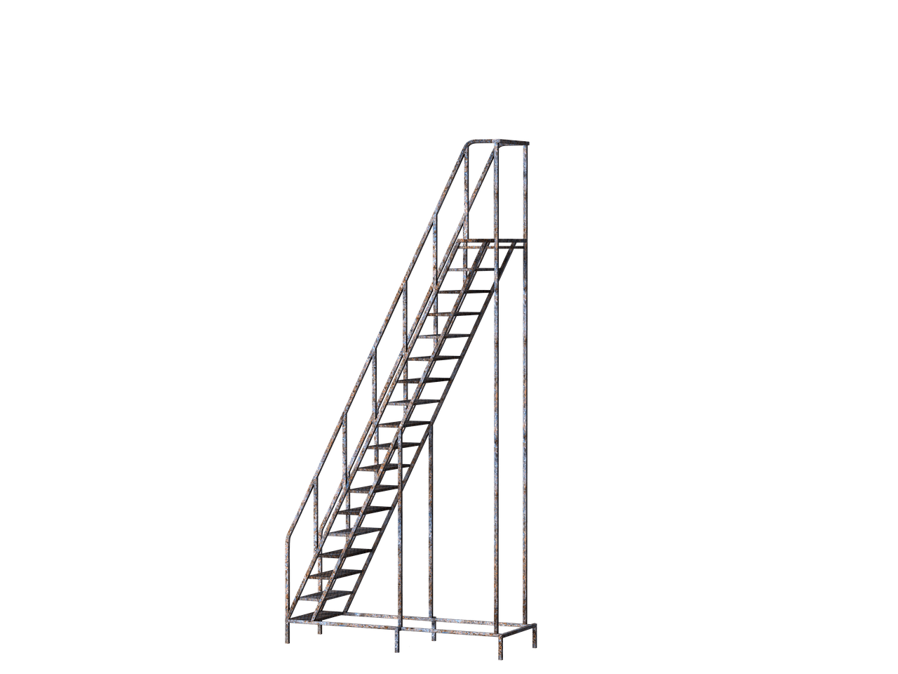 Metallic stick png. Stairs mettalic mobile left