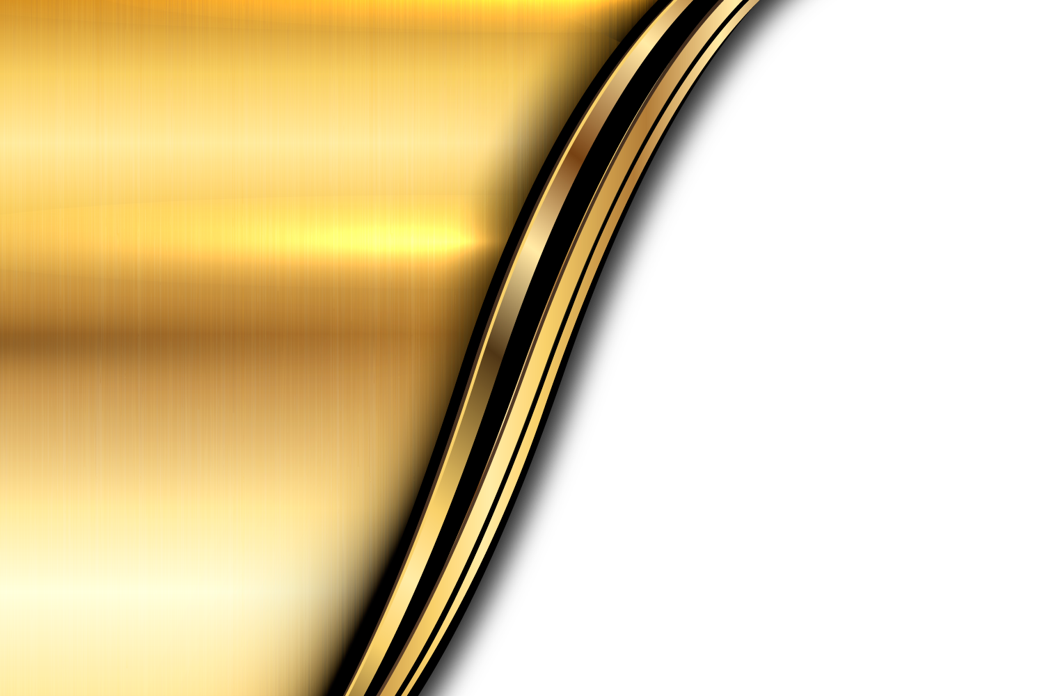 Metallic vector gold background. Light transprent png free