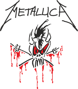 Metallica drawing stencil. Logo vectors free download