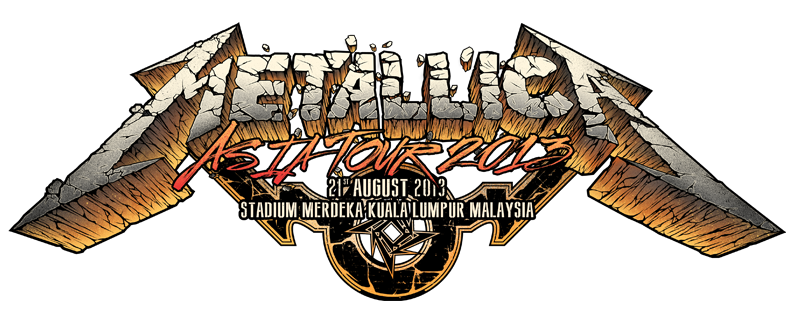 Metallica drawing album cover. Live in kl on
