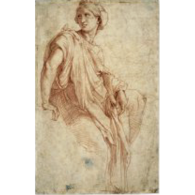 Metalpoint drawing. Raphael
