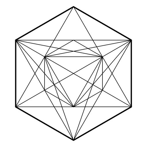 Metatron cube png. Sacred geometry overlapping circles