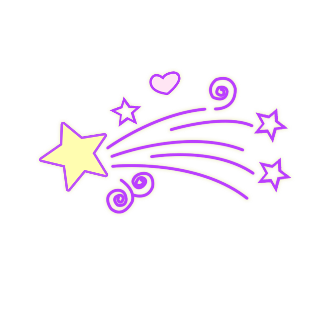 Meteor clipart purple. Star space light colorful