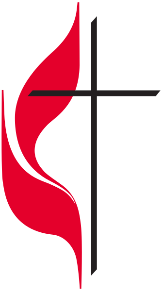 Methodist church png. File logo of the
