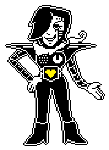 Mettaton legs png. Switched up sprite by