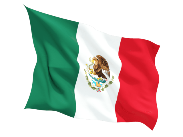 Mexican background png. Mexico flag wave transparent
