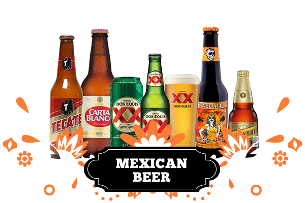 Mexican beers png. Aztec products and liquor