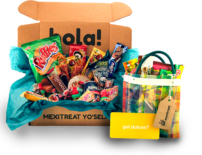 Mexican candies png. Candy and snacks subscription