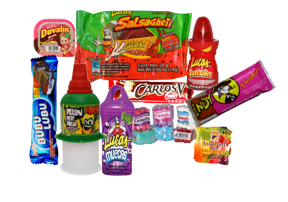 Mexican candies png. Best candy mixed bag