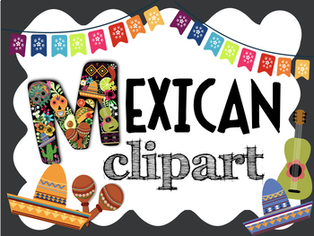 Mexican clipart decoration mexican. Colorful food decorations famous
