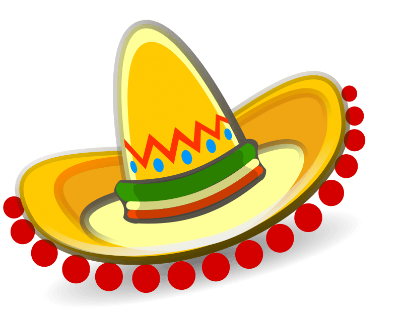 Mexican clipart decoration mexican. No background food clip