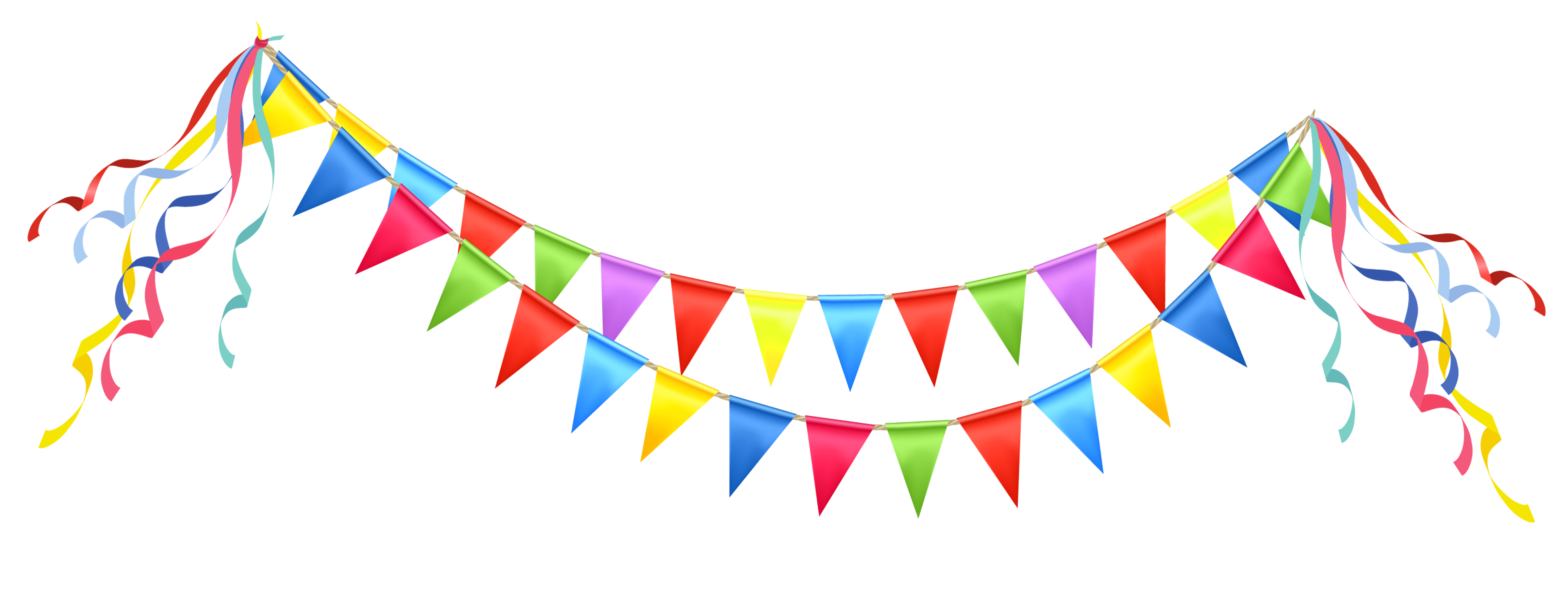 Fiesta flags png. Celebrate banner clipart april