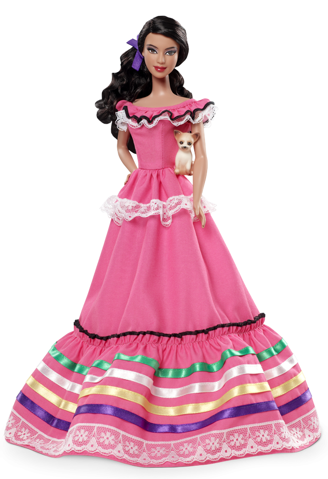 Barbie clip dress. Toy or trouble mexico