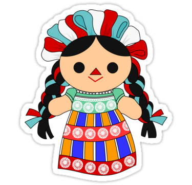 mexican doll png