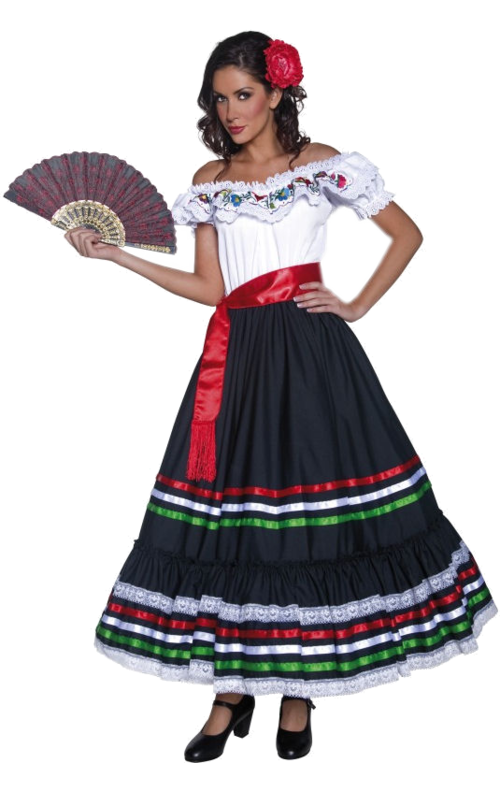 Mexican person png. Traditional woman costume pinterest