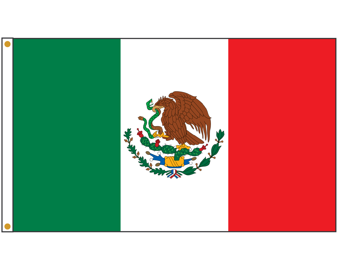Mexican flag banner png. Mexico durable high quality
