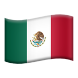 Mexican flag emoji png. Mexico on apple