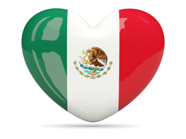 Mexican flag grunge png. Heart icon download of