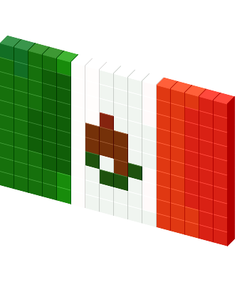 Mexican flag png. Favicon