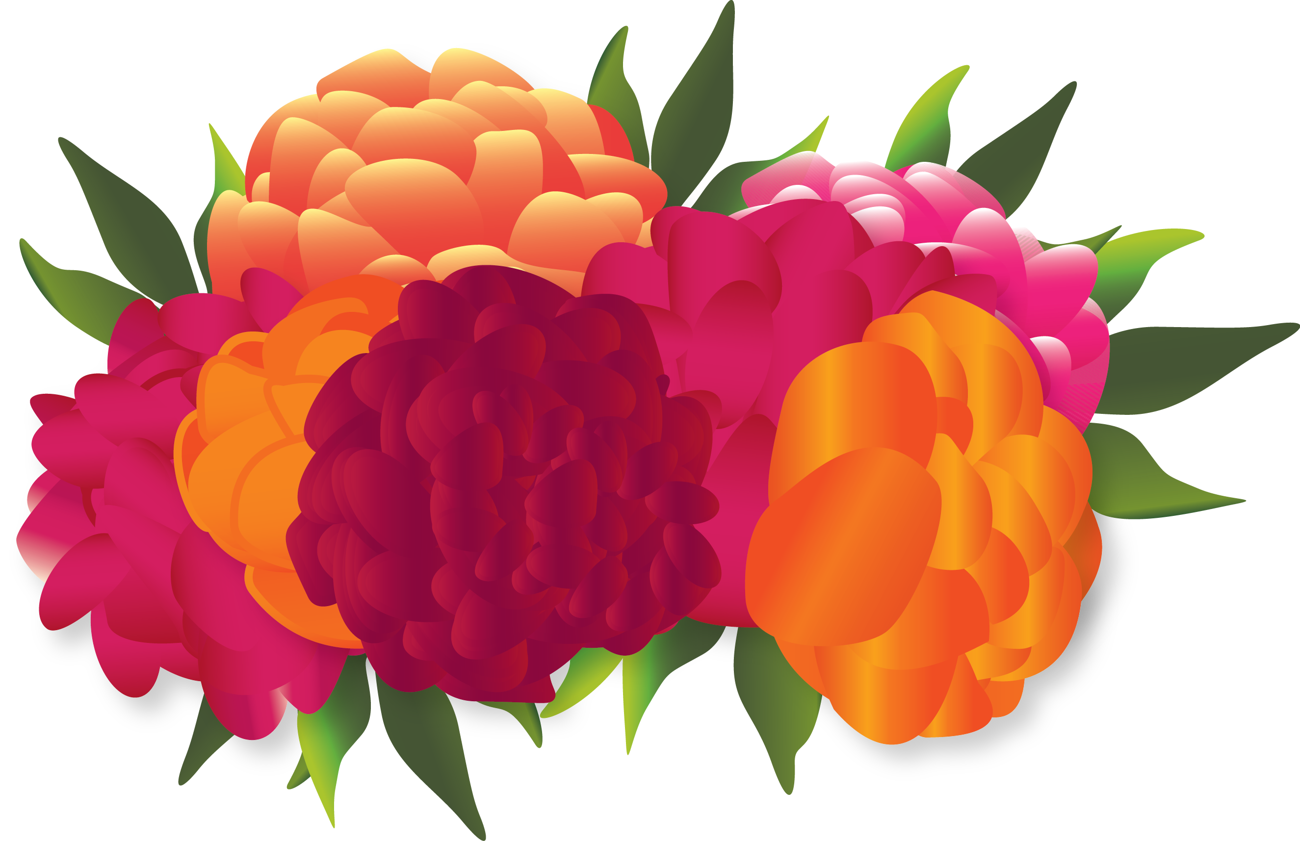 Mexican flowers png. Collection of clipart