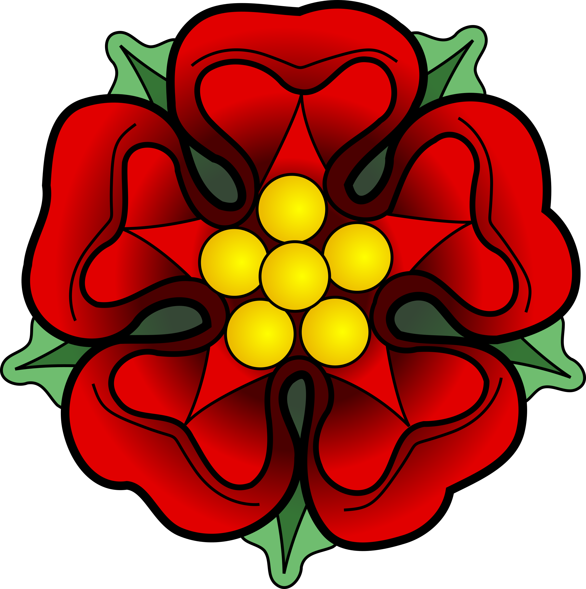 Mexican flower png. Clipart heraldic rose big