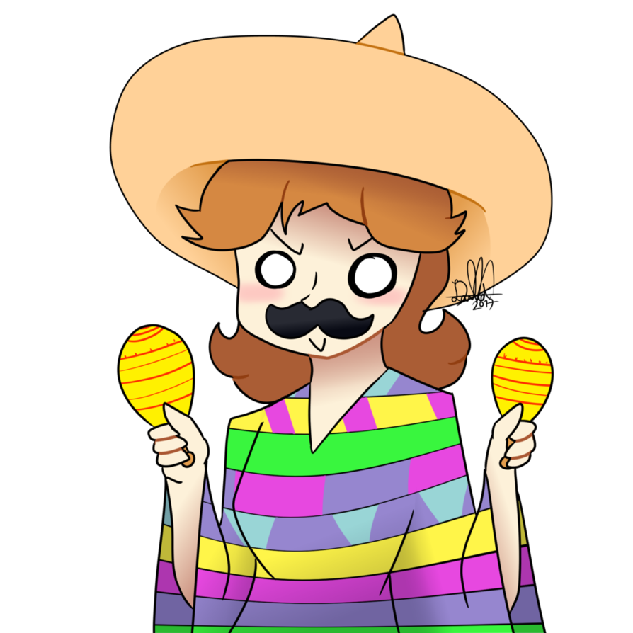 Mexican guy png. Daisy week day by