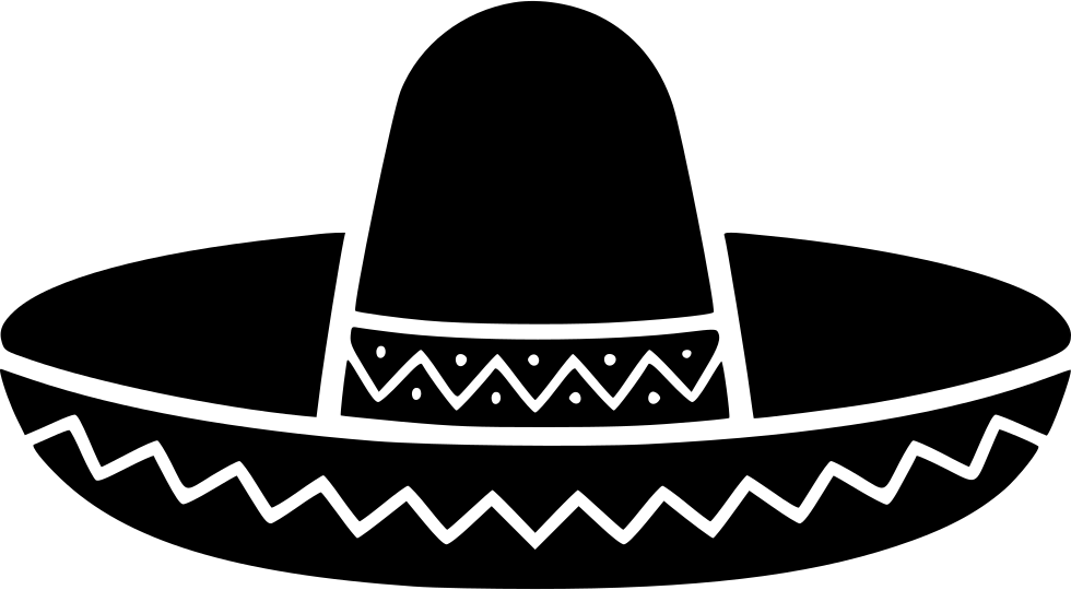 Mexican hat png. Svg icon free download