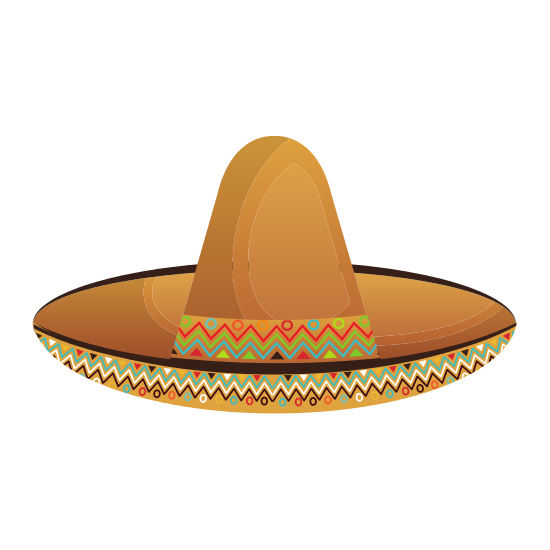 Mexican hat png. Pictures of icons by