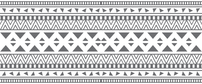 Aztec patterns png. Grey and white print