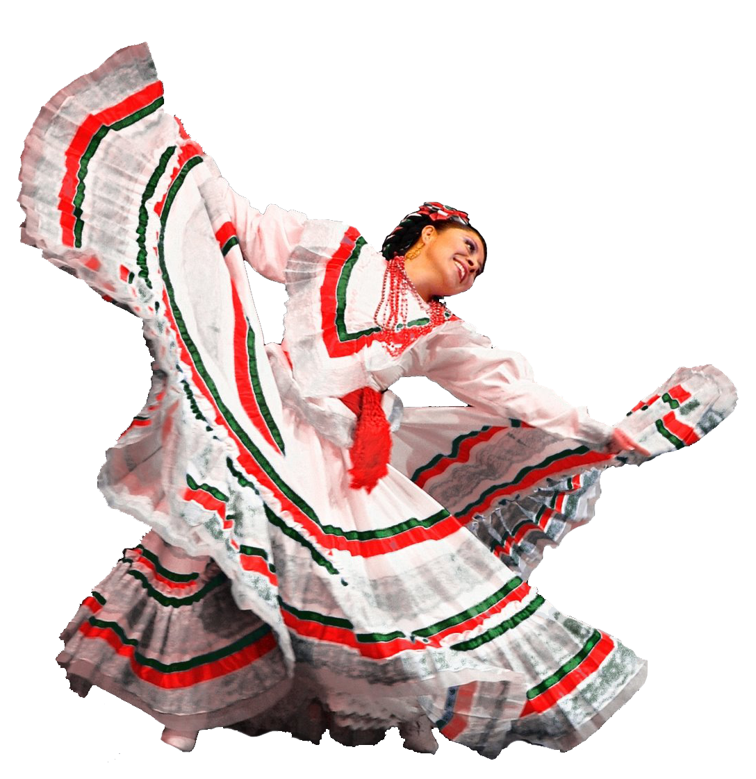 Mexican person png. Dancer ballet folklorico dancers