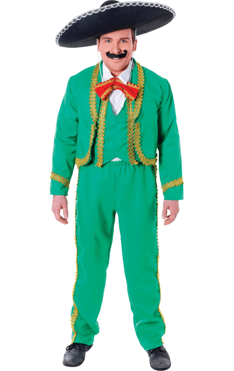 Mexican person png. Adult man costume jokers