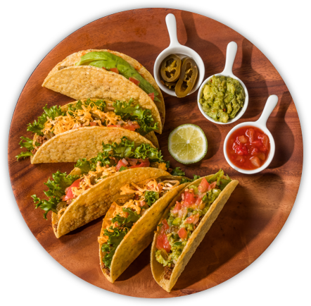 Mexican plate png. El burro grill authentic