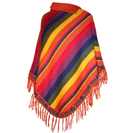 Mexican poncho png. De rayas willapi