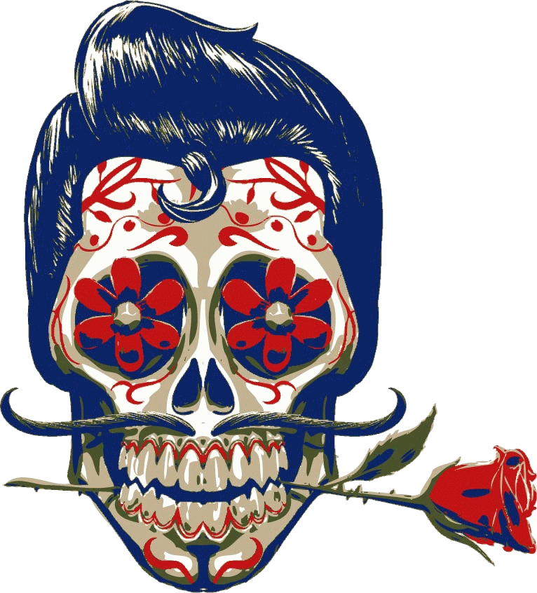 Mexican skull png. Wear by gilvany oliveira