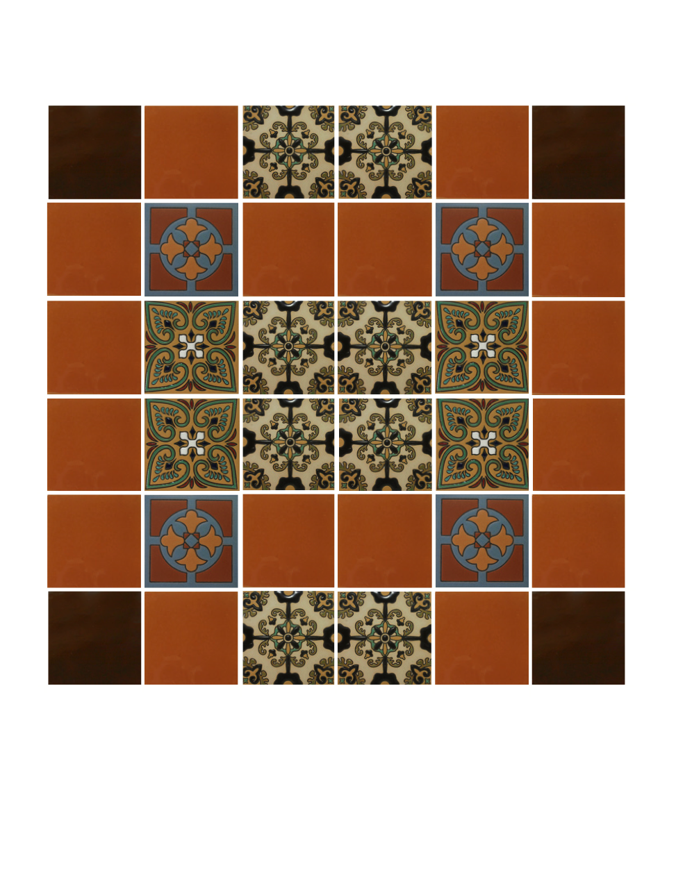 mexican tiles png