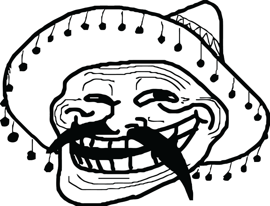 Mexican troll face png. Image mexico r d