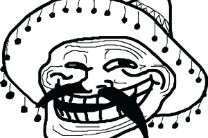 Image related wallpapers. Mexican troll face png free library
