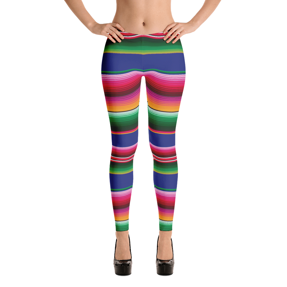 Mexican zarape png. Serape leggings the funky