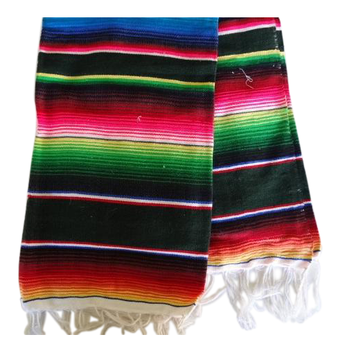 Mexican zarape png. Sarape colorful lightweight woven