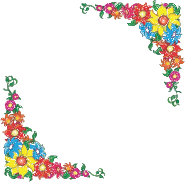 mexican floral design png