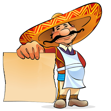 Vector sombrero cartoon