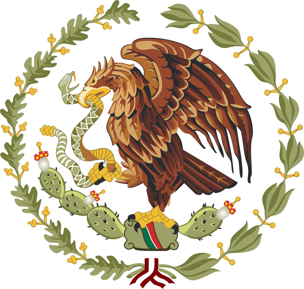 Mexico eagle png. File coat of arms