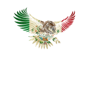 Mexico eagle png. Flying vintage mexican design
