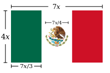 Bandera mexico png. Flag of wikipedia design