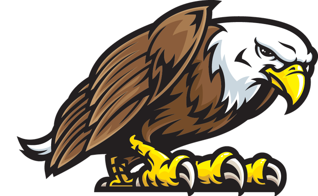 Mexico eagle png. Mascot fight stance clipart