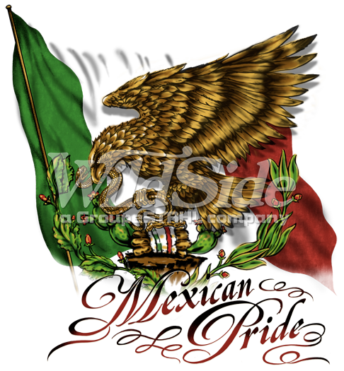 Mexico flag eagle png. Mexican pride the wild