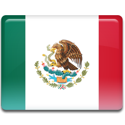 Mexico flag icon png. Iconset custom design