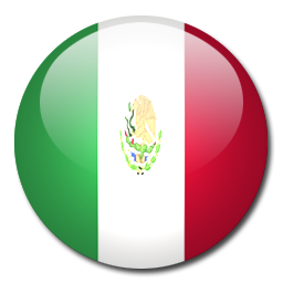 Mexico flag icon png. Download rounded world flags